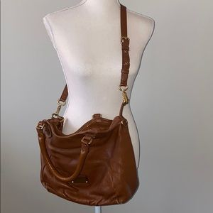 Marc by Marc Jacobs Cognac Leather Crossbody